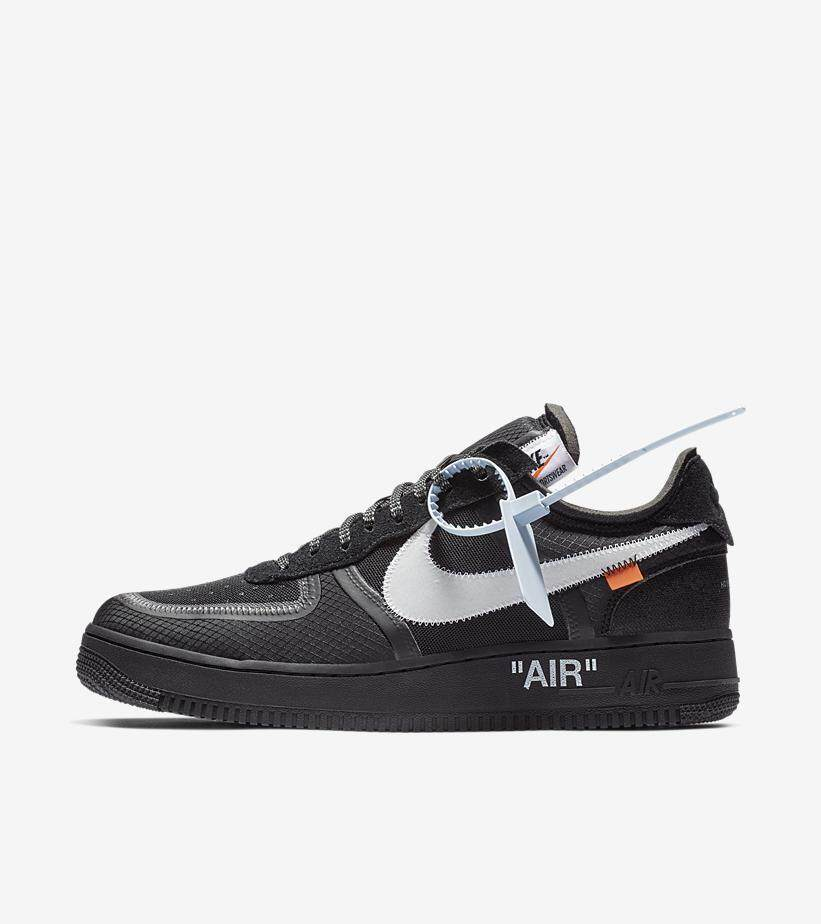 Nike_Off Putih Air_Force 1 HITAM