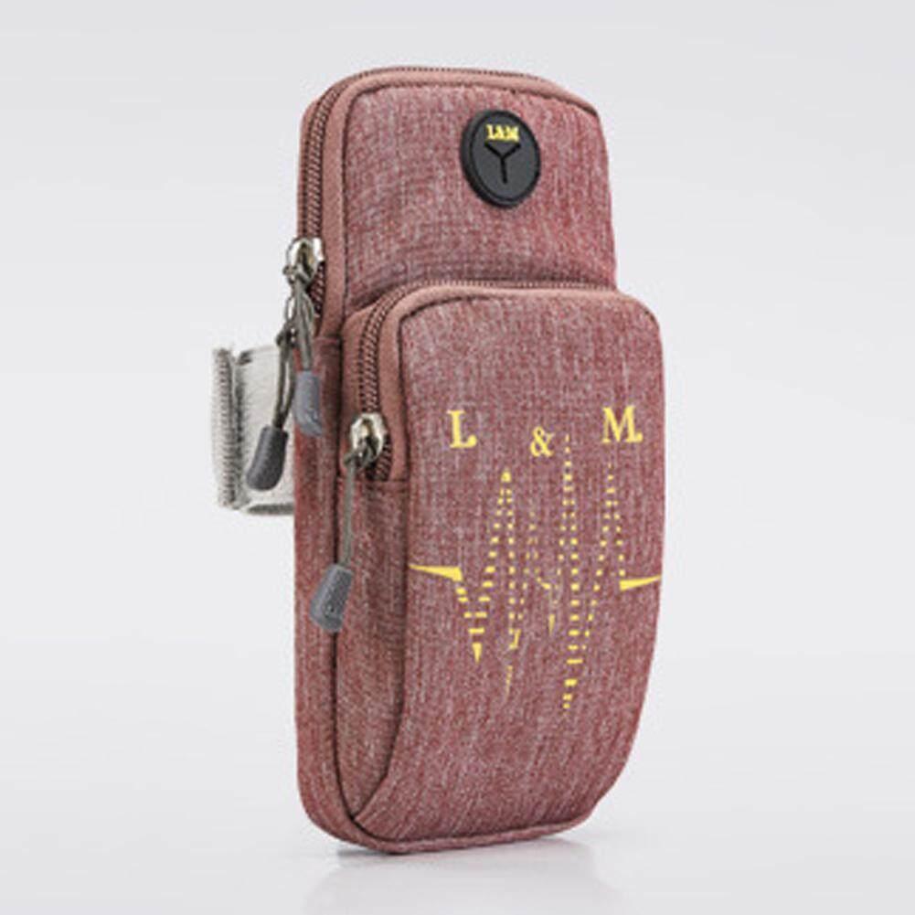 Ringan Unisex Ban Lengan Olahraga Luar Ruangan Tas Lengan Untuk 6.2 Ponsel Pintar-(1 Pcs) By Chaonong.