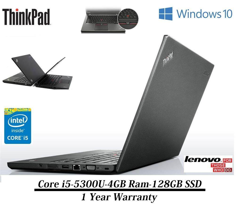 Lenovo ThinkPad T450 Ultrabook Laptop- Intel Core i5-5300U-8GB-240GB SSD - 1 Year Warranty Malaysia