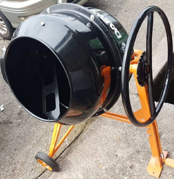 electric motor cement concrete mixer mix mixing gear rotato roller roll rolling handle handling mini wet water automatic tank drum set wheel wire blade plate pump sprayer washer drill grinder portable driver stand base high low pressure press power sander