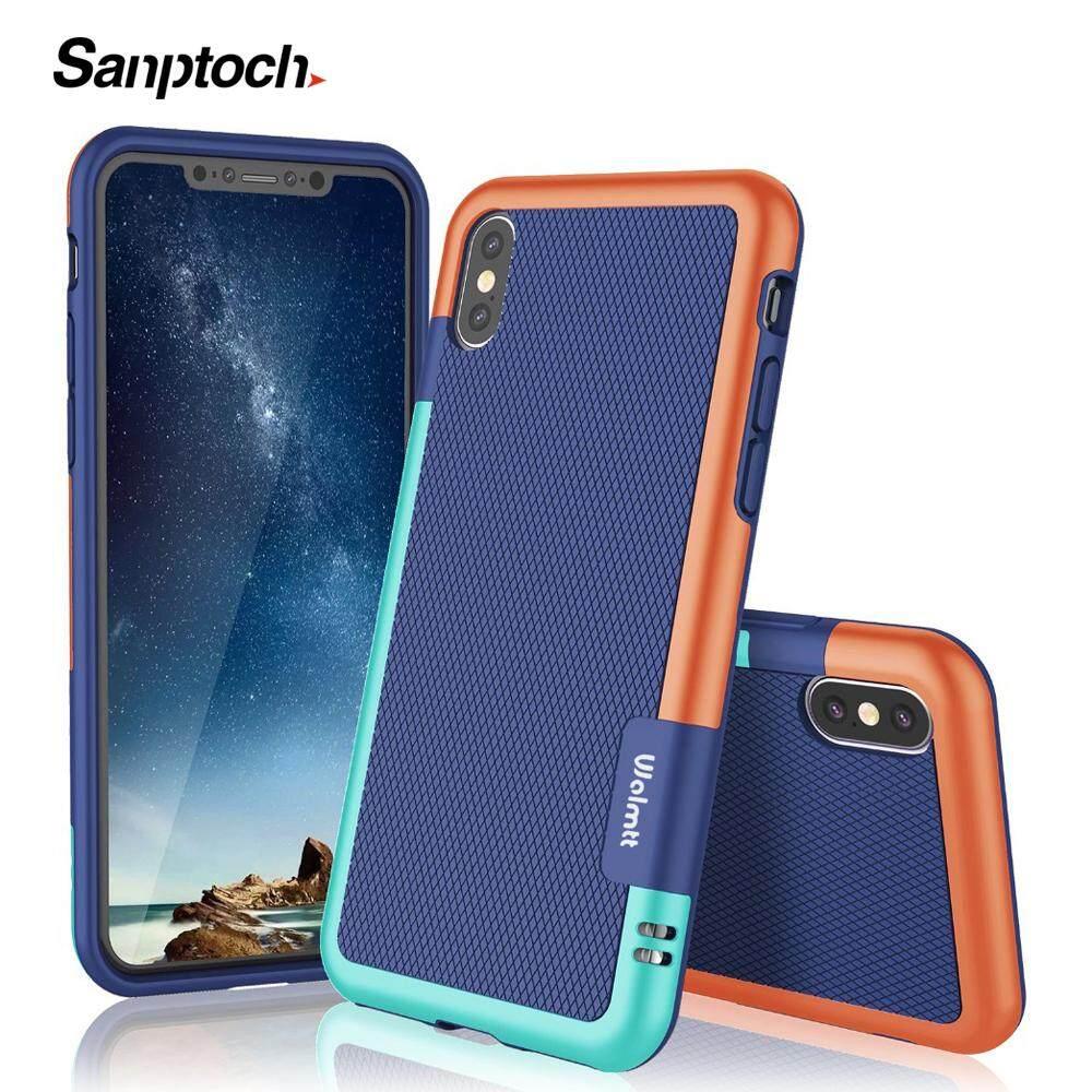 Giá Sanptoch Siêu Mỏng 3 Màu Lai Chống Trượt Chống Sốc Ốp Lưng Điện Thoại Iphone 11 Pro Max X XS Max XR Mềm TPU Ốp Lưng Silicon Dành Cho iPhone 7 8 6 6S 6S Plus Vỏ Bảo Vệ