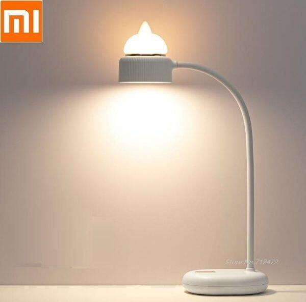Xiaomi 3life Cute cat atmosphere lamp LED eye protection table lamp Bedside night light 3 Gear Adjustable reading light