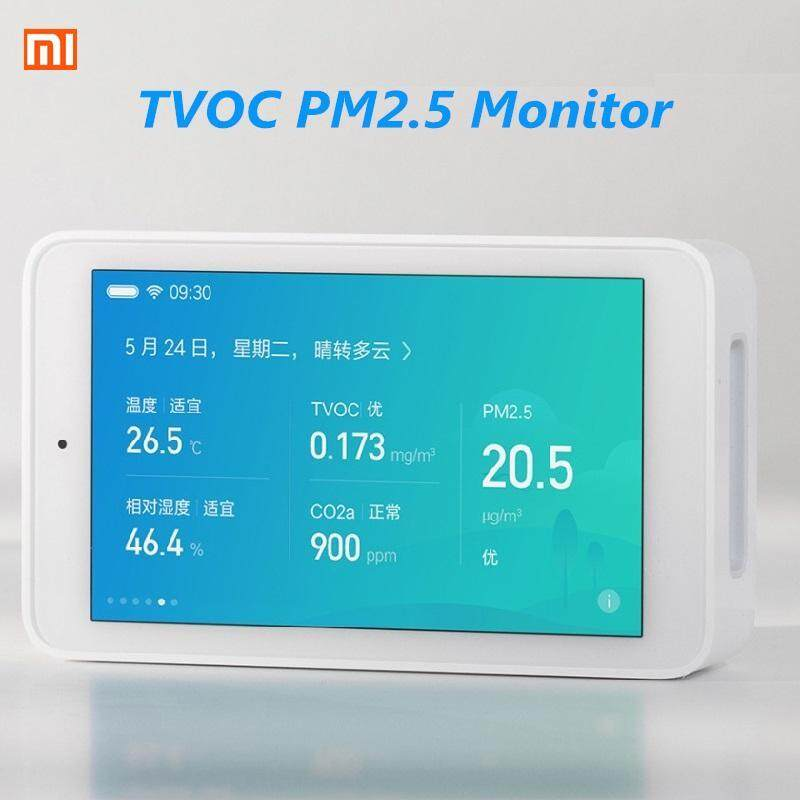 【Free Shipping + Flash Deal 】Xiaomi Mijia Air Purifier Quality Tester Monitor TVOC PM2.5 Temperature Humidity Singapore