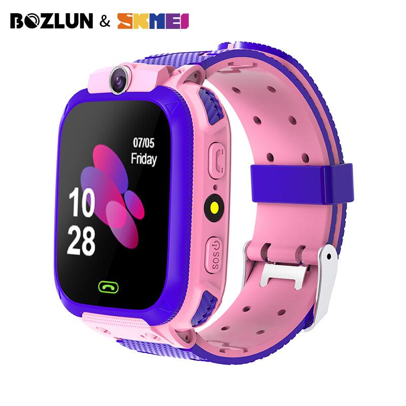 Nơi bán Đồng hồ điện thoại thông minh Skmei bozlun cho trẻ em, đồng hồ đeo tay chống nước Màn hình cảm ứng GPS gọi cho trẻ em W23