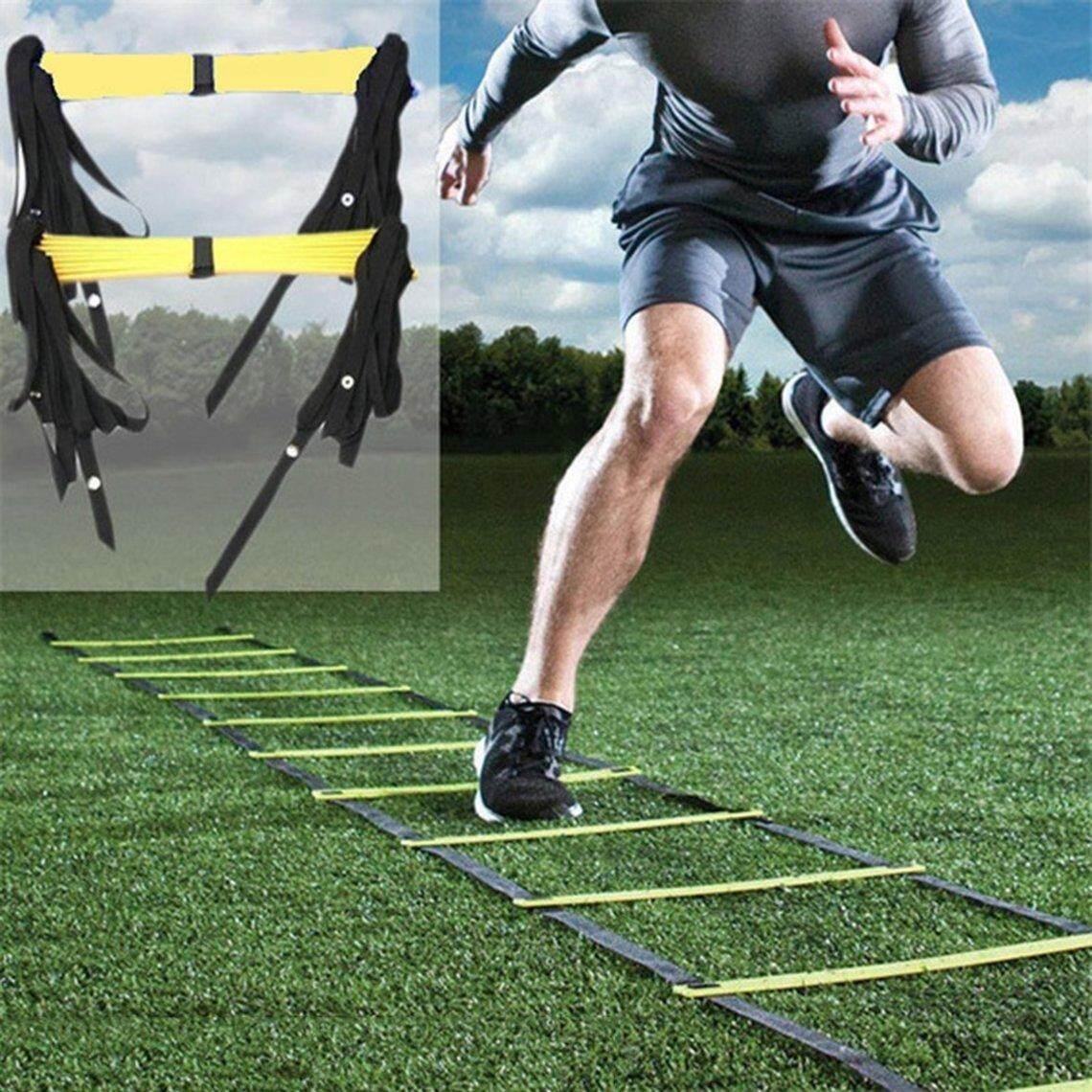 Bảng giá Tốt Nhất Giảm Giá Bền 8 Rung 15 Chân 4M Sự Nhanh Nhẹn Thang Cho Bóng Đá Luyện Tập Tốc Độ