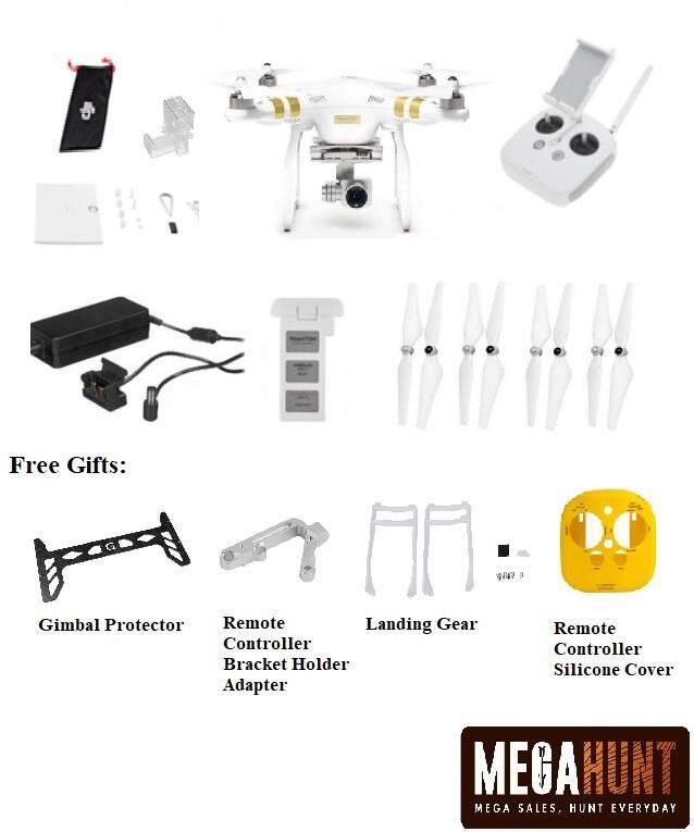 DJI Phantom 3 Professional with Free Gifts