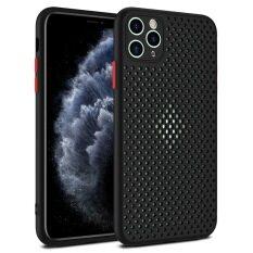 Ốp Lưng Điện Thoại Lưới Thoáng Khí Thời Trang Cho iPhone 11 Pro XS Max XR X 8 7 6 6S Plus Ốp Lưng Silicon Tản Nhiệt Tản Nhiệt Ốp Lưng Cao Su