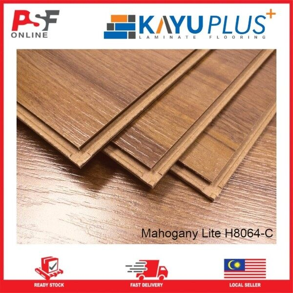 New Ready Stock Premium Laminating Flooring Tile with Heat Resistant in Wholesales Price