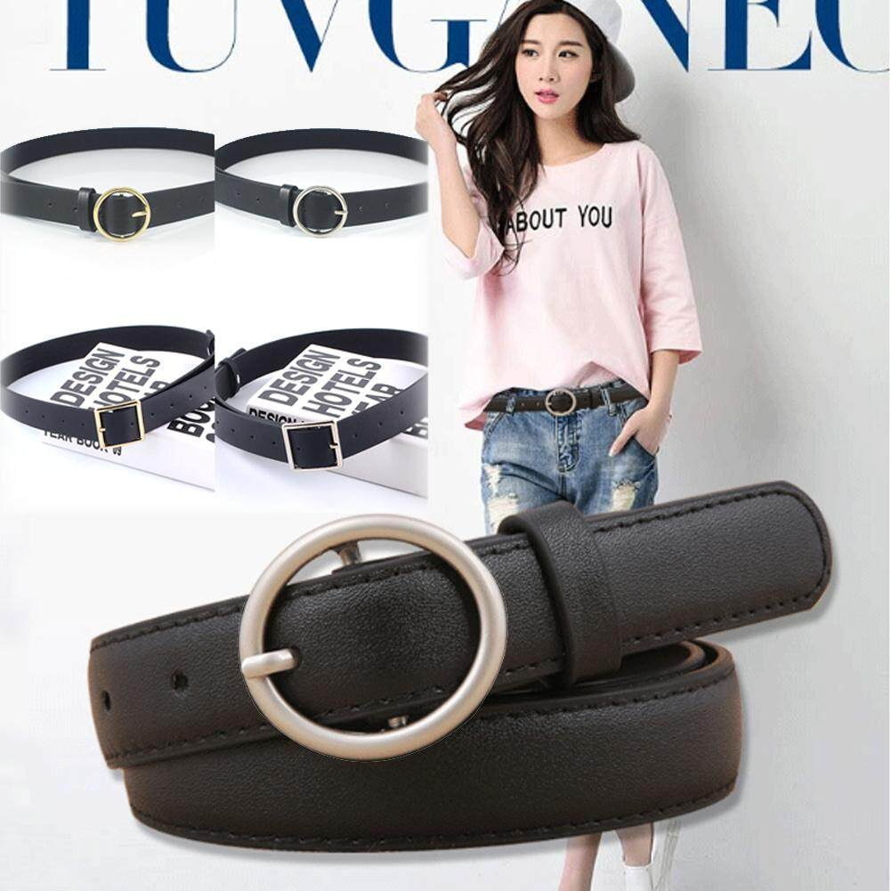 Ladies Belts Solid Waistband Leather Waist For Casual Solid Women Jeans Female