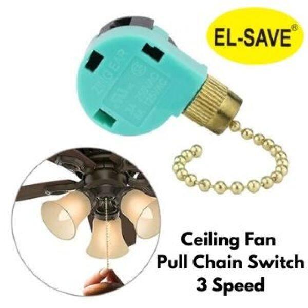 Adjustable Speed Pull Chain Ceiling Fan Switch Control Button Pull Chain 3 Speed Fan Light Switch Fan accessories