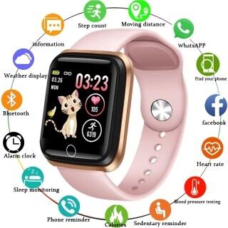 LIGE 2021 Đồng Hồ Nữ thông minh Đồng hồ thể thao chống nước IP67 Máy đo nhịp tim Màn hình LED Màn hình màu Vòng đeo tay thông minh cho nữ cho Android Ios + Hộp thumbnail