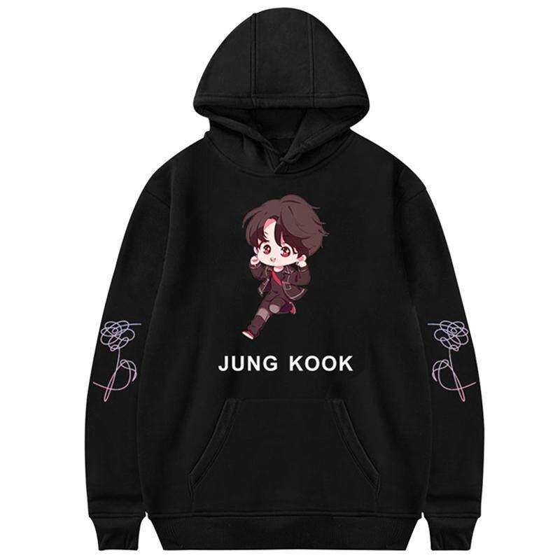 Hequ Bts Q Kpop Hooded Sweatshirt Women Winter Korean Popular Hip Hop Hoodies Women Set Fans Casual Idol Team Fashion Female Clothes By Hequ Trading.
