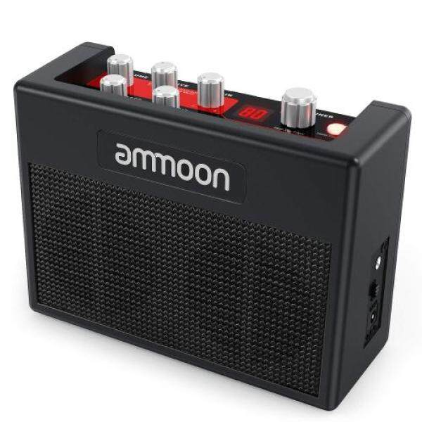 ammoon Guitar Amp Multi-effect Small Portable Amp Built-in 80 Drum Rhythm 5W Tuner Tap Tempo Support Aux Input Headphone Output Power Adapter Included POCKAMP Malaysia