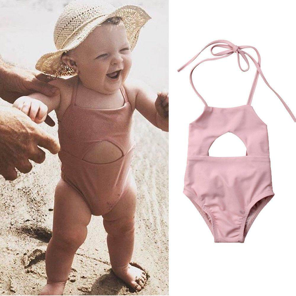 4f02a8a883 Newborn Baby Girl Clothes Swimsuit Swimwear Beach Bikini Bathing Suit  Outfits