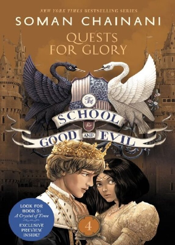(MPH)School For Good And Evil #4: Quests For Glory: Author:Chainani, Soman:ISBN:9780062658487 Malaysia