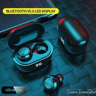 Tai Nghe Bluetooth Không Dây Mini A6, Tai Nghe Hiển Thị Kỹ Thuật Số Cảm Ứng Thông Minh Tai Nghe Không Dây Chống Nước, Dành Cho Tai Nghe Thể Thao Chơi Game thumbnail