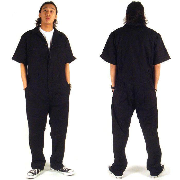 Men Hip Hop Dancing Coverall Jumpsuit Dancer Hiphop Pants Summer Fashion Short-sleeve One Piece Overalls Plus Size M