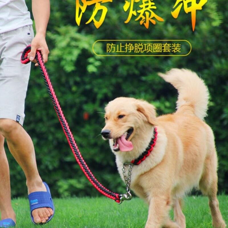 ☼Dây thừng chó mới 2020 cho công cộng P Chuỗi cổ áo dây kéo thú cưng cho Dây Xích Chó khổng lồ