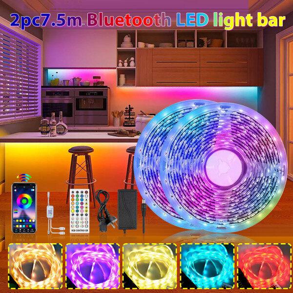Dây Đèn LED 50ft RGB Dải Đèn Thay Đổi Màu Cực Dài 600 Đèn LED Sáng