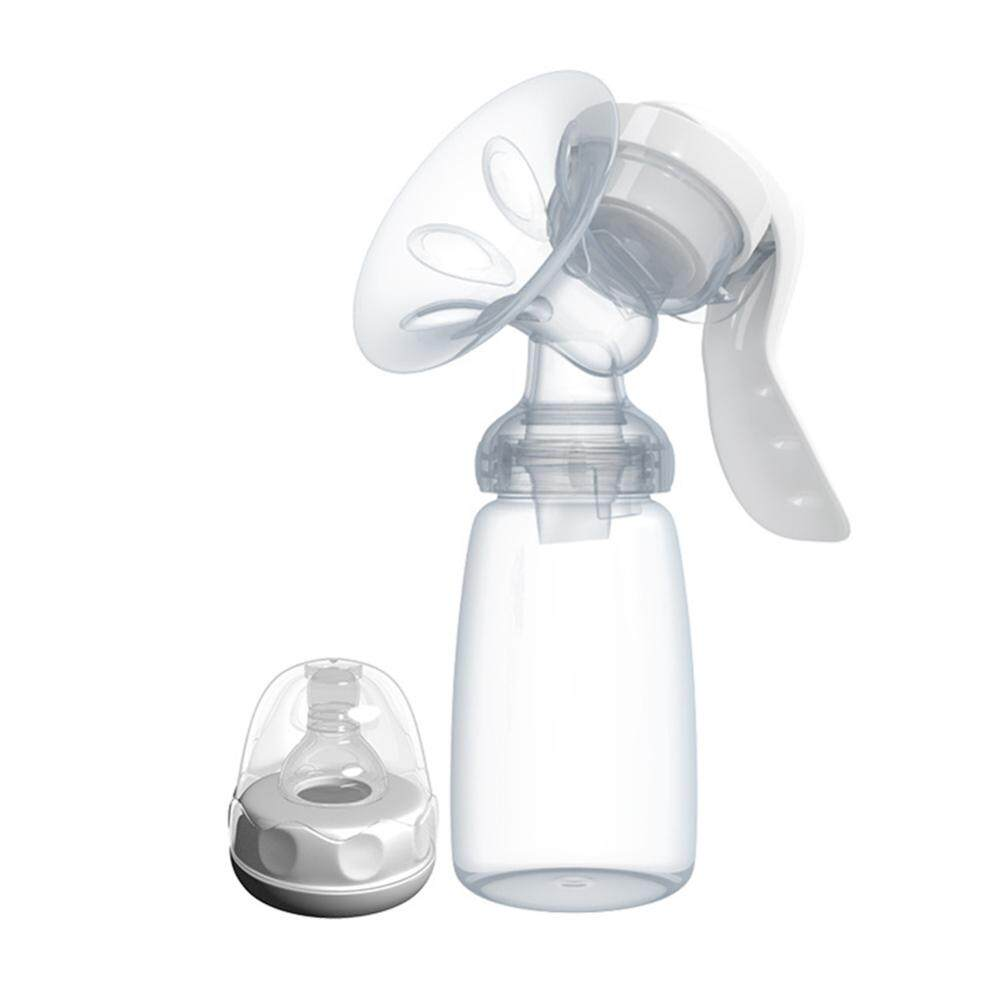 [YUEXIANG]Manual Breast Pump Smoothly Sucked with Milk Bottle for Mother