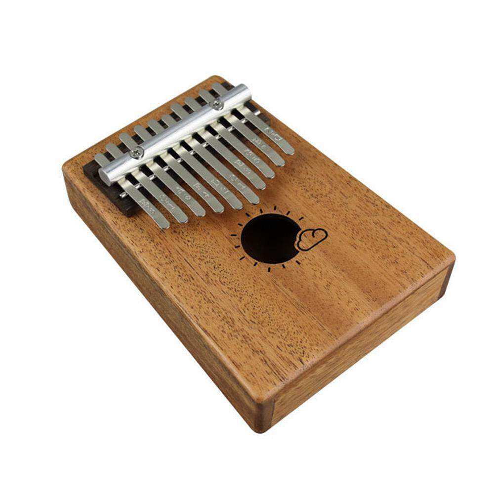 BuyBowie 10 / 17 Keys African Fingers Kalimba Thumb Piano Percussion Keyboard Mahogany Wood