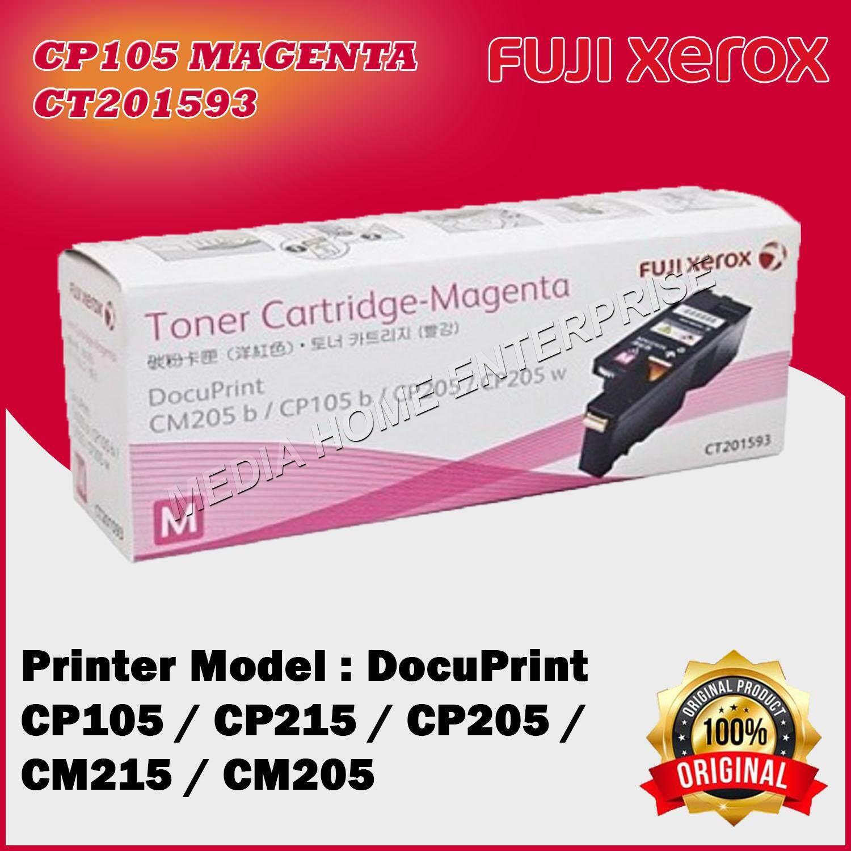 Magenta Original Fuji Xerox CP105 / CP205 / CP215 / CM205 / CM215 Origianl  Toner For Docuprint CM205b CM205f CM205fw CM215b CM215fw CP105b CP205