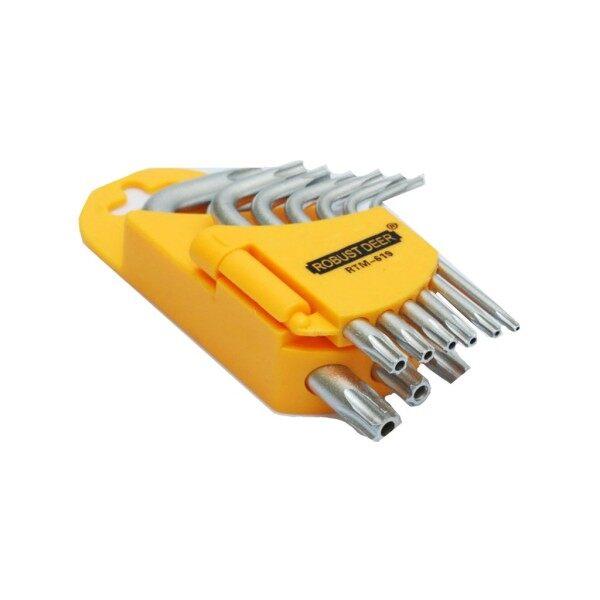 9 Pcs/SET Auto Anti Tamper Proof Torx Star Hex Key Wrench L Shape T10 T15 T20 T25 t27 T30 T35 T40