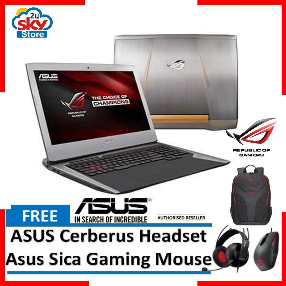 Asus ROG Notebook G752VT-GC100T Gaming Laptop Malaysia