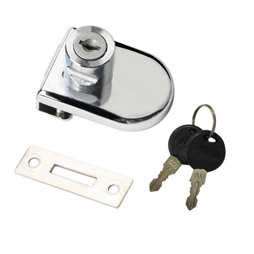 Loviver Showcase Cabinet Sliding Glass Door Lock Display Cabinet Door  Security Lock