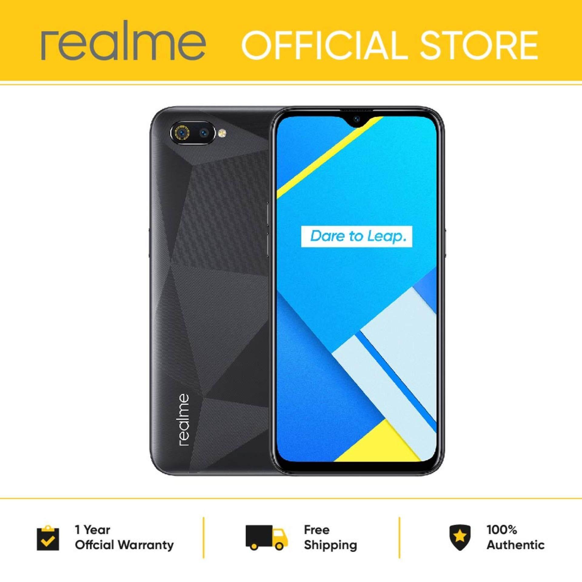 realme C2 3GB RAM + 32GB ROM smartphone (Free 32GB Sandisk MIcro SD Card)