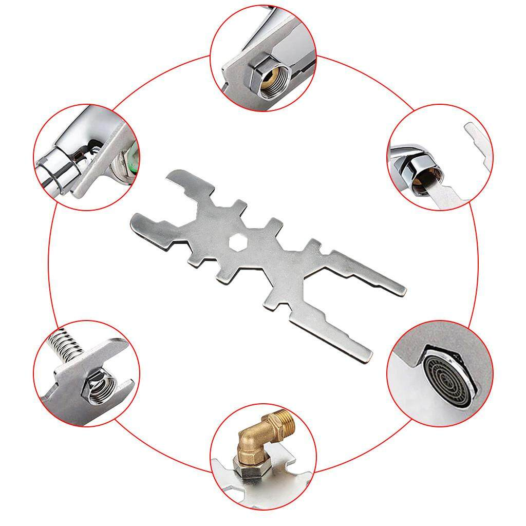 Malonestore Wrench Tools Spanner Multi-Function Faucet Wrench Tool Kit