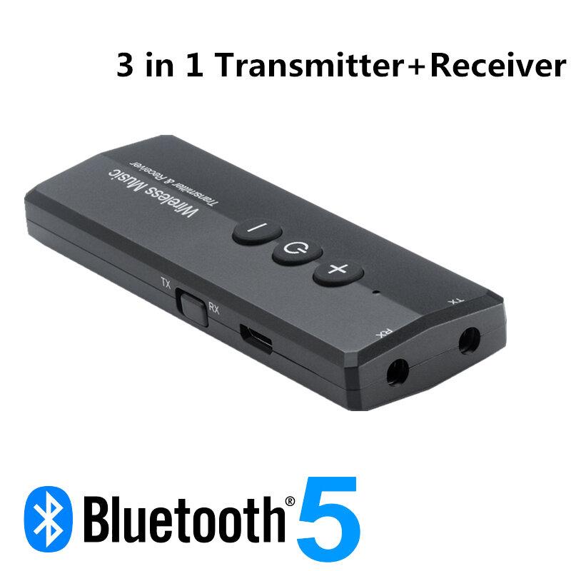 Bộ Thu Phát Bluetooth 5.0 3 Trong 1 Âm Thanh Nổi Dành Cho Máy Tính/PC/Tai Nghe/ Tai Nghe Có Dây /Loa/Tay Cầm Chơi Game/Máy Tính Bảng/Điện Thoại/Micrô