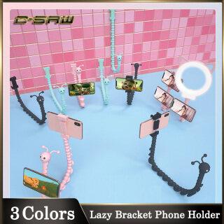 Giá Đỡ Điện Thoại Di Động Lười C-SAW Xoay 360 Độ Giá Đỡ Sâu Bướm Dễ Thương Giá Đỡ Máy Tính Bảng Để Bàn Đế Hút Điện Thoại Linh Hoạt Hình Sâu Cho Tường Nhà Để Bàn Xe Đạp Cho iPhone Huawei Samsung Vivo Oppo Redmi thumbnail