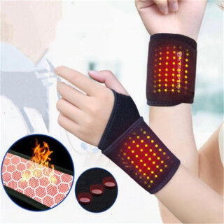 SUNNY DAY BEAUTY 1 Pair Professional Health Care Magnetic Therapy Hot Sale Braces Belt Wrist Brace Arthritis Pain Relief Tourmaline Self-Heating thumbnail