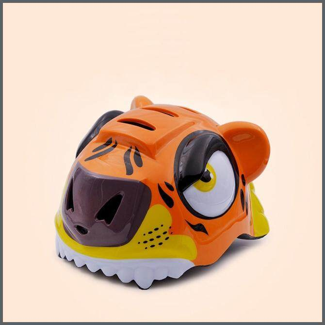 Childrens Tiger Helmet Outdoor Riding Hard Hat (pre-Order 7 - 9 Working Days) By Qpet Supplies Trading.