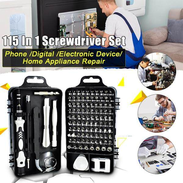 115 in 1 Mini Magnetics Precision Screwdriver Set Multi Computer PC Mobile Phone Device Repair Hand DIY 32合一多功能手动螺丝刀