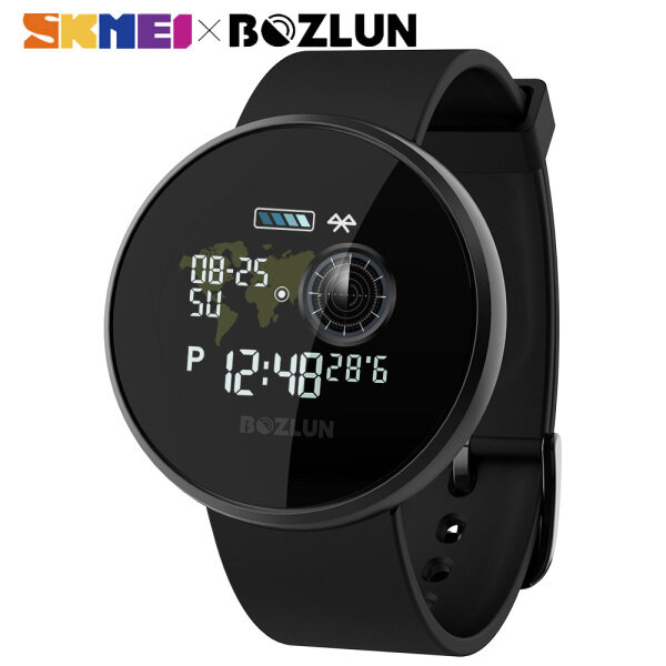 SKMEI BOZLUN Smart Digital Watches Colorful Touch Screen Heart Rate Reminder Waterproof Casual Sport Watch For Women Man B36M Malaysia