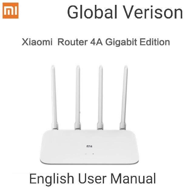 Xiaomi Mi Router 4A Giga Version R4A English