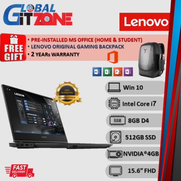 Lenovo Legion Y7000-PG0 81T0004QMJ 15.6 FHD 144Hz Gaming Laptop ( i7-9750H, 8GB, 512GB, GTX1650 4GB, W10, HS) NoteBook Malaysia