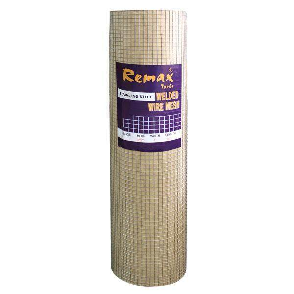 1FEET @ REMAX 1/2X1/2 3FT (1.0MM) STAINLESS STEEL 304# WIRE MESH