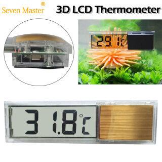 Nhiệt Kế Bể Cá, Đồng Hồ Đo Nhiệt Độ Điện Tử Kỹ Thuật Số 3D LCD Đa Chức Năng, Đo Nhiệt Độ Bể Cá thumbnail