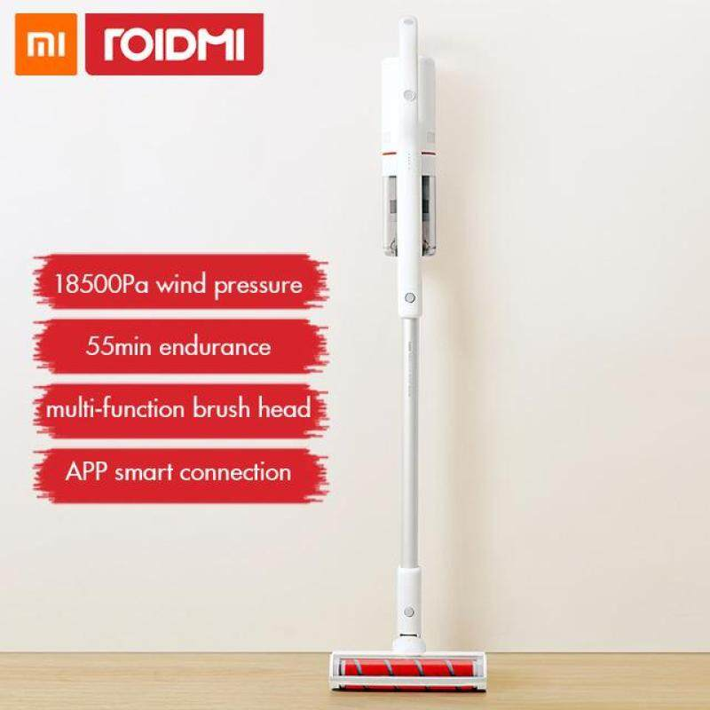 Xiaomi Roidmi F8 Original Handheld Vacuum Cleaner Low Noise Home Dust Collector household Bluetooth LED Multifunctional Brush Singapore