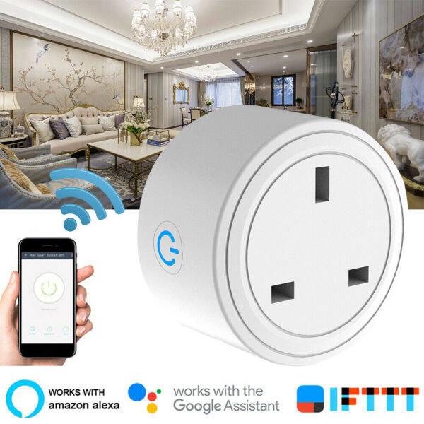 Aabest TP24 Phích Cắm Wifi Thông Minh Ổ Cắm Công Tắc Điện Ứng Dụng Điều Khiển Từ Xa Hẹn Giờ Tự Động Hóa Nhà Ổ Cắm Điện Thông Minh Ổ Cắm Bộ Chuyển Đổi
