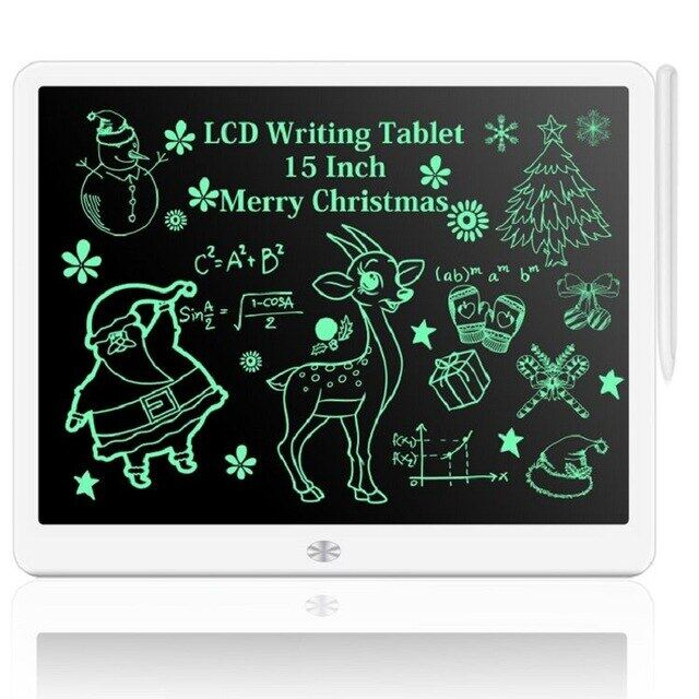Bảng Vẽ Điện Tử 15Inch, Máy Tính Bảng Viết Màn Hình LCD Kỹ Thuật Số Đồ Họa Vẽ Máy Tính Bảng, Bảng Viết Tay Điện Tử + Bút