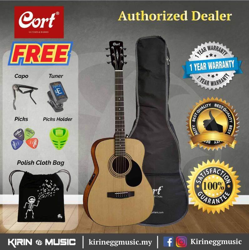 Cort AF510 EQ Acoustic Guitar (Folk Size) Malaysia