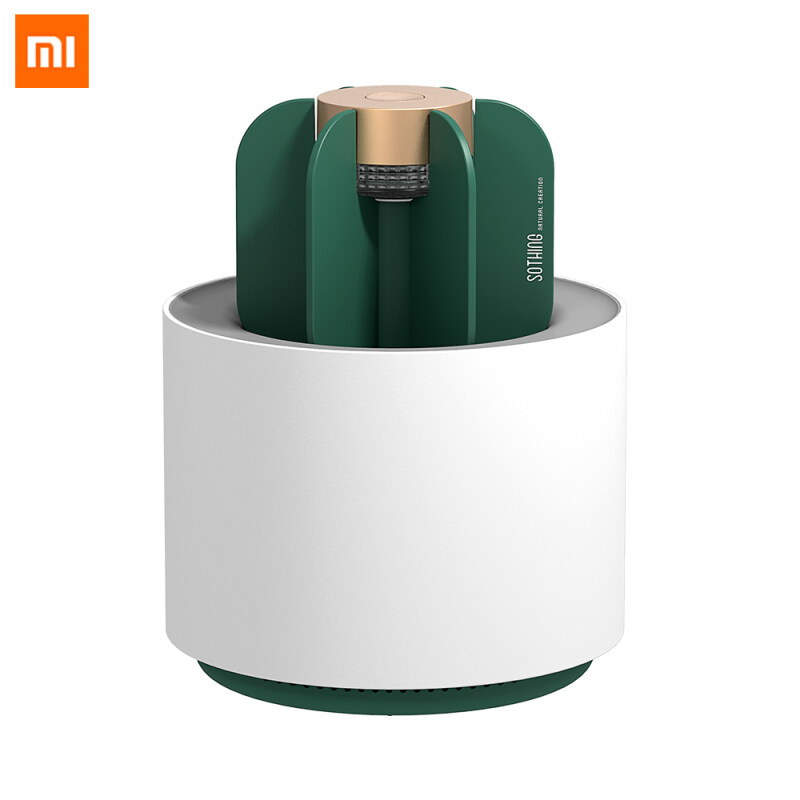 Xiaomi Mijia Youpin Ecological Brand Sothing Mosquito Killer Lamp Portable Cactus USB Electric Mosquito Repellent Insect Trap UV Light Removable Clean Insect Killer Lamp For Home Office