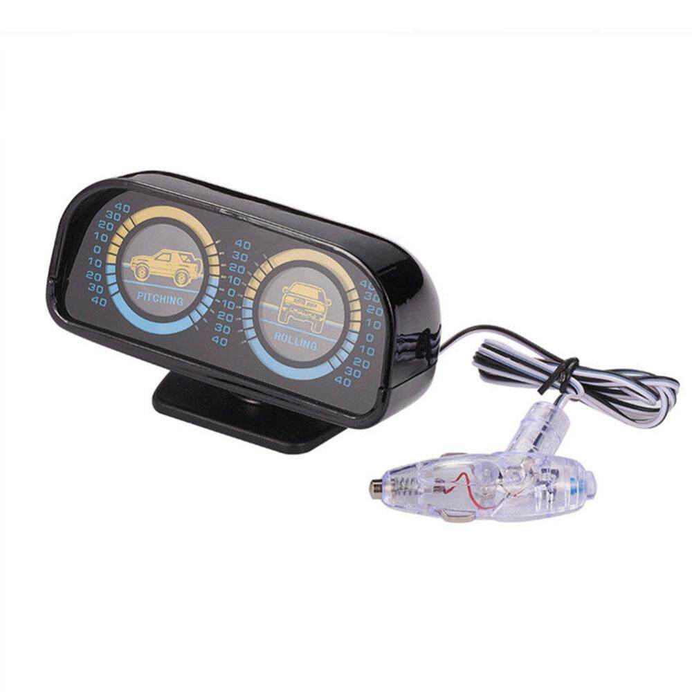 Car Inclinometer Auto Inclinometer Universal Backlight 12v Slope Meter Compass By Autofan.