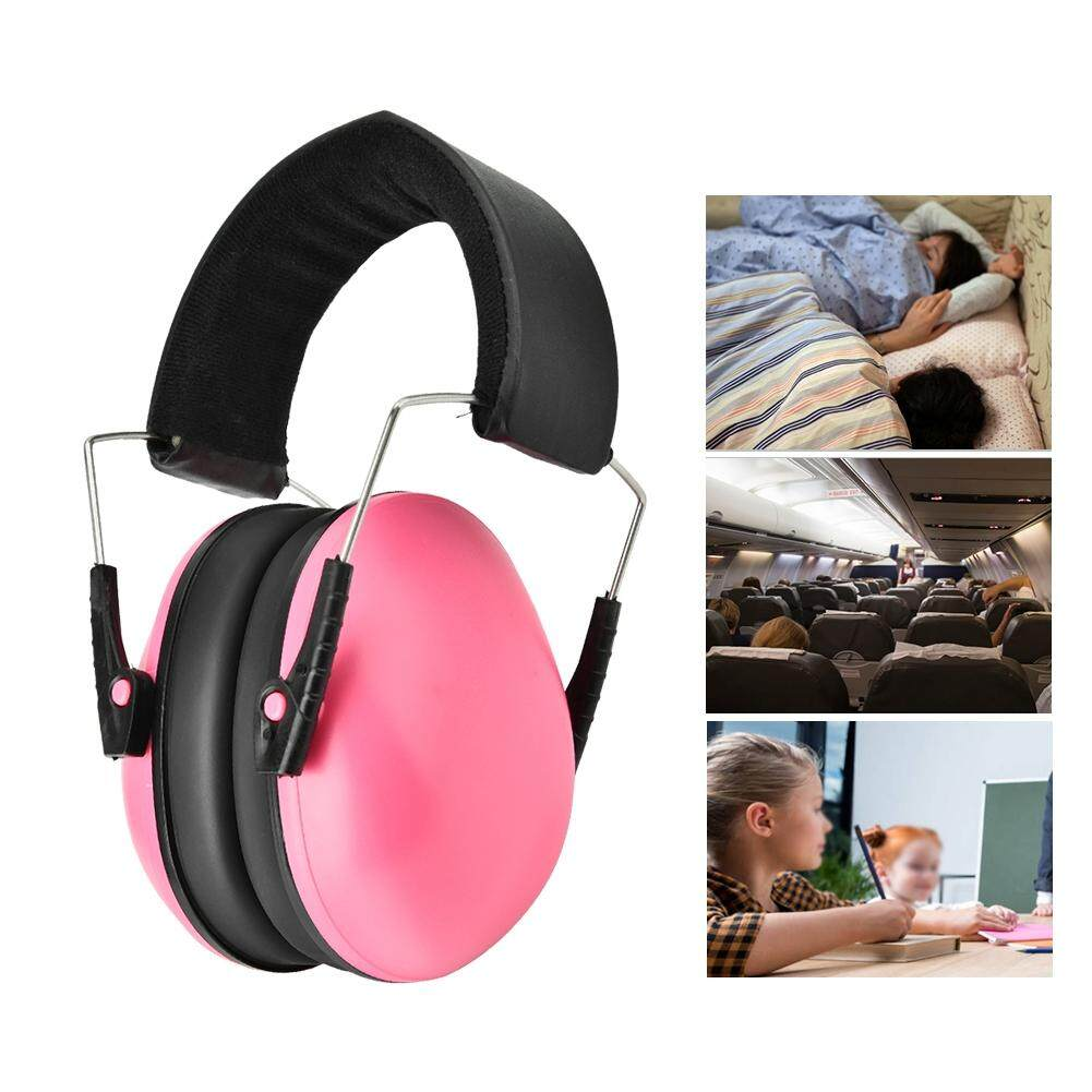 (Bất kỳ 2, Có Được 10%) Qianmei Trẻ Em Cách Âm Tai Trẻ Em Ngủ Nghiên Cứu Chống tiếng ồn Bảo Vệ Thính Giác