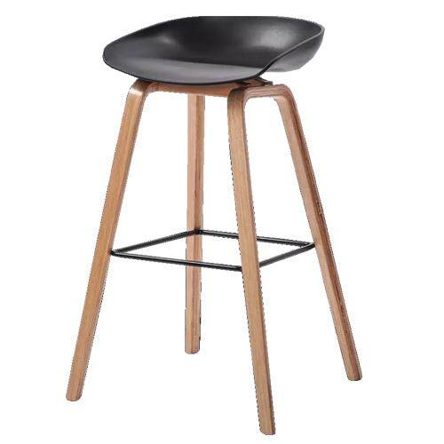 Lazio Modern Bar Stool - 696 with 65cm seat height