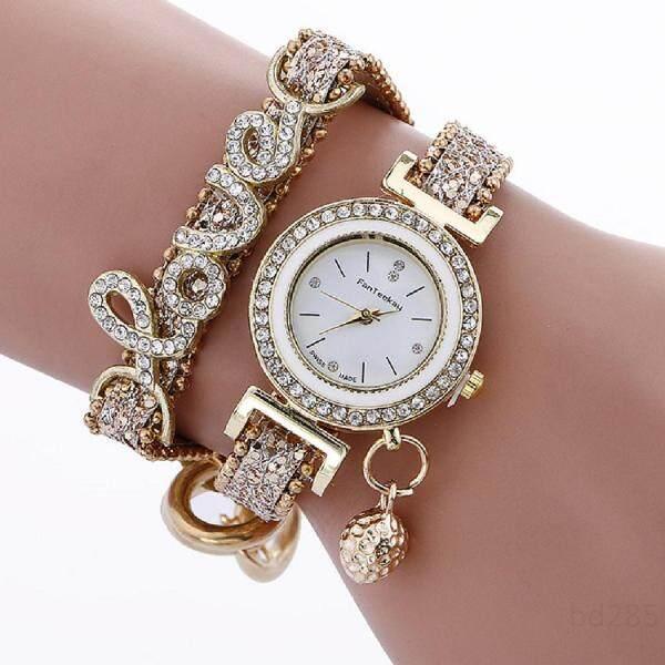 Diamond Bracelet Watch love hanging ball studs ladies quartz watchv9DgqLdR Malaysia